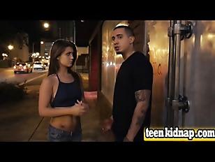 Teen Jojo Kiss Kidnapped Fucked Doggy Style Public