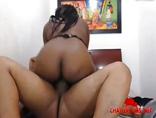 Ebony Hottie Hump Cam