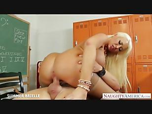 Picture Blonde Teacher Summer Brielle Fuck In Classr...