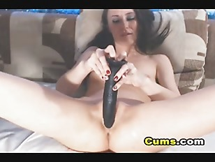 Horny Babe Sucks And...