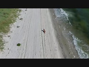 Beautiful teen girl Edes at the beach