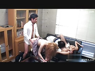 Picture Japanese Foursome Gets Hot