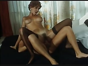 Long Legged Redhead With Beautiful Tits In Action