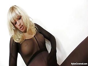 Slutty Blonde Distorted Nylon...