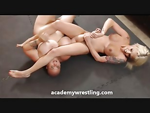 latin wrestler gets horny from his wrestling workouts