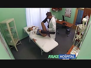 Picture Stunning Blonde Patient Gets The Good Doctor...