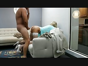 Amazing blonde gets a...