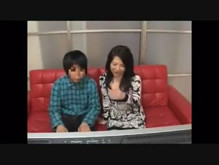 Japanese Mother Son Temptation Experiment