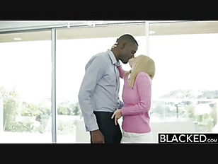 BLACKED Tiny Blonde Wife...