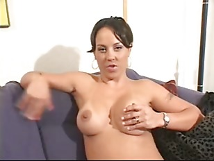 Nude woman with lion video