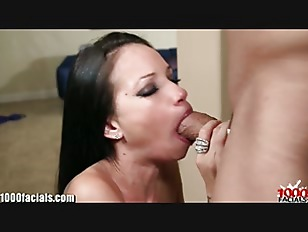 1000facials tattoo girl raven bay039s petite mouth full of cum 4