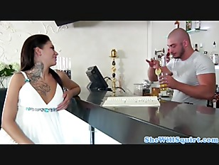 Pierced russian amateurs cum cocktail