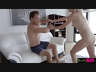 Bratty Sis - My Cock Slips In Sisters Pussy And She Loves It