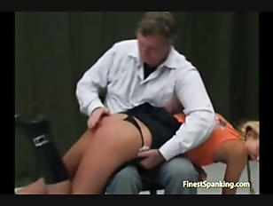 Picture Young Girl 18+ Ass Punished Hard By Daddy