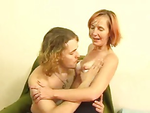Mature In Stockings Fucked By Young Guy
