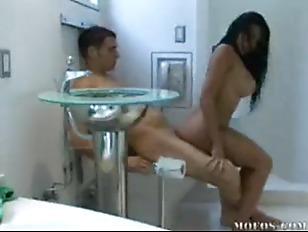 Audrey Bitoni  Fucks on the Toilet