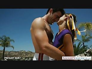 Hot Cheerleader Presley Hart...