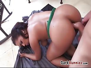 Brown Woman Makes Porno...