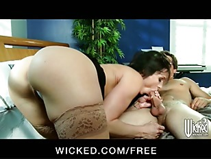 Picture Busty House Nanny Teaches Younger Man A Few...