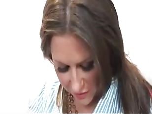 Big tit brunette fucked