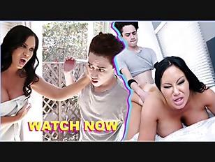 BANGBROS - Angry MILF Sybil Stallone Fucks Her Big Dick Step Son Juan El Caballo Loco