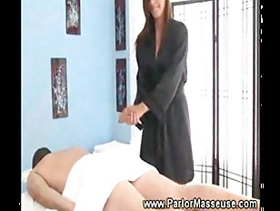 Picture Masseuse Gets Horny Giving A Rub Down