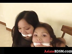 Picture Sweet Asian Chicks Here Hogtied