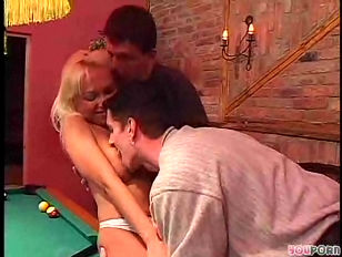 Blonde Plays With Dick...
