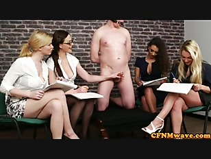British cfnm babes jerking...