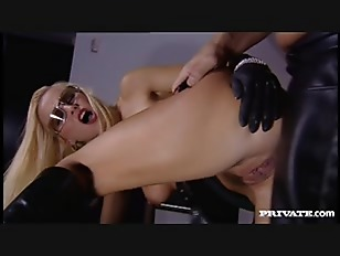 Hot Blonde Nikki Sun Gives Blowjob after Getting Asshole Reamed