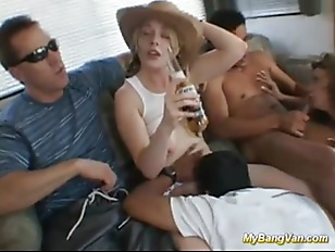 Wild College Girls Bangvan Orgy - Hailey Young