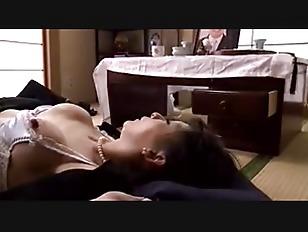 Japanese wife has anal  hardcore  affair