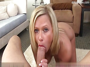 Picture Deep Throating Perfect Blonde Slut