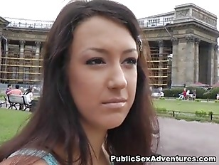 Nasty Blowjob In A...