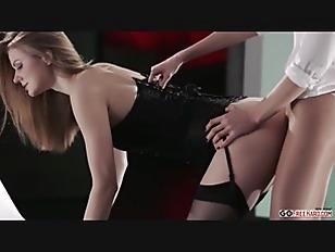 Two Blonde Lesbian Sex...