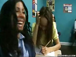 Classroom Of Girls Laugh At The Boys Boner
