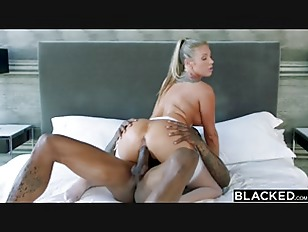 BLACKED Samantha Saint Cant Resist BBC and Rimming