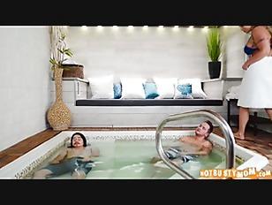 Hot Tub MILF Machine...