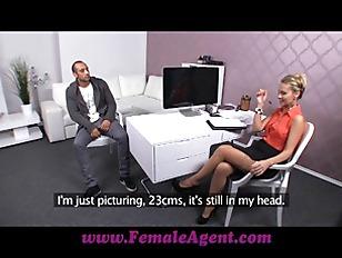 FemaleAgent Massive Cock Delivers...