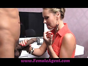 FemaleAgent Massive Cock Delivers...
