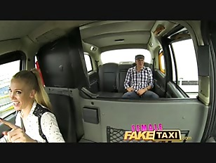 Femalefaketaxi busty driver swallows actor039s cum 10