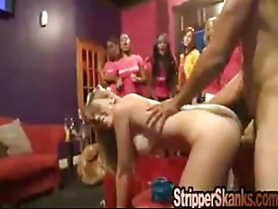 Swinger Bachelorette Fucks Stripper...