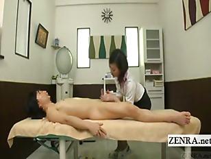 Video handjob cfnm massage