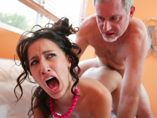 Picture Amia Moretti Rough Grandpa Sex