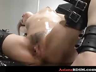 Picture Hottie Bounded With Drenched Pussy Too P3