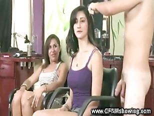 Picture CFNM Slut Sucks Cock At The Hair Salon