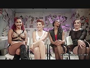 Lesbian in group hardcore bondage videos