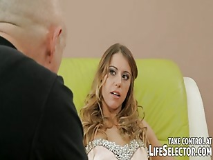 Picture Angry Husband Stretches Her Womans Holes And...