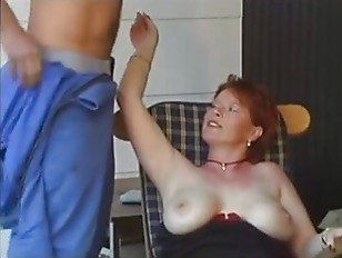 Picture German Sex Games With Mature Redhead