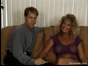 Vintage Babe Enjoys Big...
